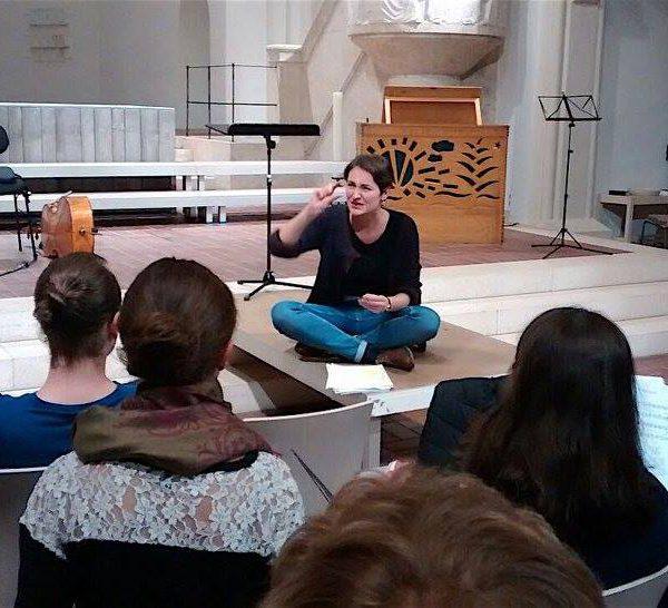 Proben für Bach² in St. Markus, München
