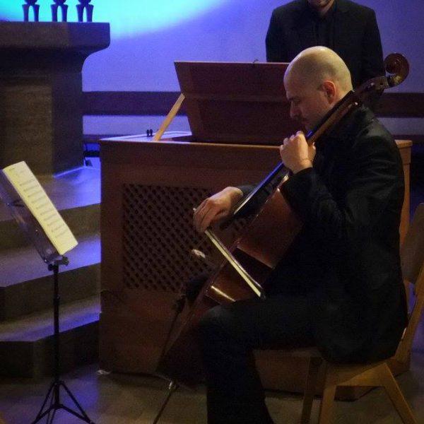 Bach² in der Nazarethkirche, München – Juri Kannheiser, Cello